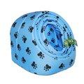 №1 №1 Лежанка-ракушка голубая, лапки Kormberi.ru магазин товаров для ваших животных