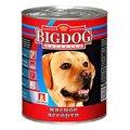 ЗООГУРМАН BIG DOG (850г) для собак ж/б Мясное ассорти (уп9) Kormberi.ru магазин товаров для ваших животных