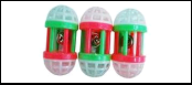 Катушка пластик с погремушкой 7*4см ИУ76 Kormberi.ru магазин товаров для ваших животных