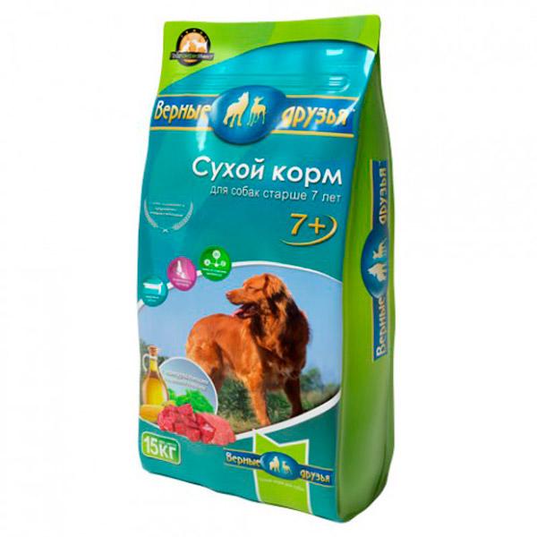 """Верные друзья """"Верные друзья"""" (15кг) д/с старше 7 лет Kormberi.ru магазин товаров для ваших животных"""