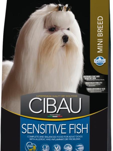Farmina CIBAU (  800г) д/с мелк. Рыба (fish) Sensitive Mini  (!) Kormberi.ru магазин товаров для ваших животных