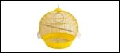 №1 №1 Клетка д/птиц 39*42 кругл. укомпл. 1,46кг ДКпА308 Kormberi.ru магазин товаров для ваших животных