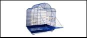 №1 №1 Клетка д/птиц 52*41*71 фигурн, овал, откид. дверь 6,0кг ДКп800А (уп2) Kormberi.ru магазин товаров для ваших животных