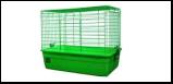 №1 №1 Клетка д/кролика  60*36*40 бок. дверь, корм.уш   д/сена 2,58кг ДКкR1F (уп4) Kormberi.ru магазин товаров для ваших животных