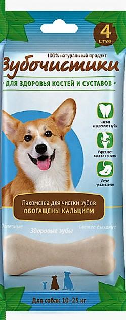 """Зубочистики """"Зубочистики"""" Кальциевые для собак средних пород пород 4шт.(90г) 73304003 Kormberi.ru магазин товаров для ваших животных"""