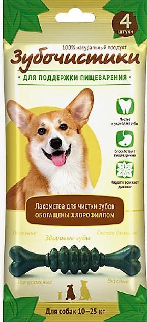 """Зубочистики """"Зубочистики"""" Мятные для собак средних пород (70г) 73303983 Kormberi.ru магазин товаров для ваших животных"""