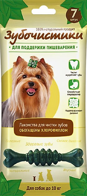 """Зубочистики """"Зубочистики"""" Авокадо для собак мелких и средних пород (35г) 73304034 Kormberi.ru магазин товаров для ваших животных"""
