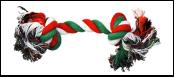 №1 Грейфер веревка с двумя узлами 37см ГР12024-11 Kormberi.ru магазин товаров для ваших животных