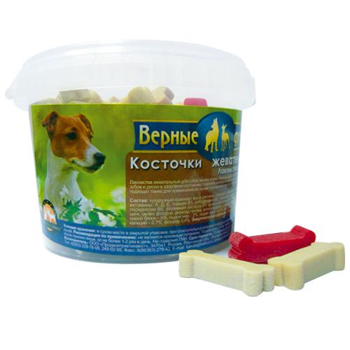 Верные друзья Верные друзья Косточка Жевательная (250г) Mini ведро (уп18) Kormberi.ru магазин товаров для ваших животных