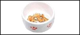 №1 №1 Миска керам. глубокая, рис. хомяк 7,5*4см МКР209 Kormberi.ru магазин товаров для ваших животных