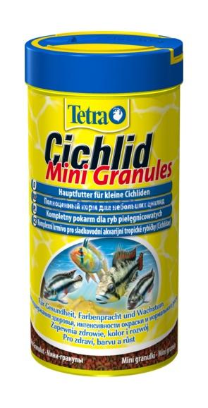 Корм основной для цихлид Tetra Cichlid Mini Granules 250ml 146549 Kormberi.ru магазин товаров для ваших животных