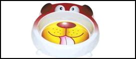 """№1 №1 Миска  меламиновая фигурная """"Собака"""" 18см, 450мл А1009 Kormberi.ru магазин товаров для ваших животных"""