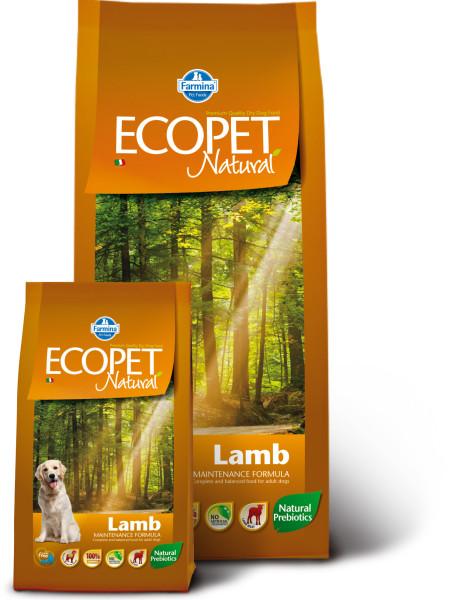 Farmina Ecopet Natural (12кг) д/с всех пород Ягнёнок (lamb) Kormberi.ru магазин товаров для ваших животных
