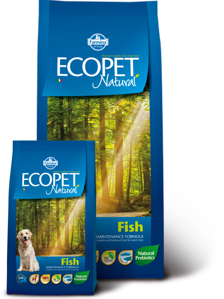 Farmina Ecopet Natural (12кг) д/с всех пород Рыба (fish) Kormberi.ru магазин товаров для ваших животных