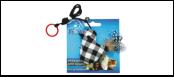 Дразнилка Птичка тканевая на пружине 7,2см ИУ101 Kormberi.ru магазин товаров для ваших животных