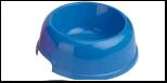 №1 №1 Миска круглая средняя 18,5*14*5,2см, 450мл пластик Дм900 Kormberi.ru магазин товаров для ваших животных