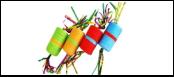 Катушка нейлоновый шнур 4*7 см. 1*18 ведер ИУ95 Kormberi.ru магазин товаров для ваших животных