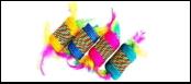 Катушка-погремушка сизаль с перьями 7*4,3см ИУ28 Kormberi.ru магазин товаров для ваших животных