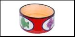 №1 №1 Миска керам. роспись, рис. рыбки 12,5*5см МКР087 Kormberi.ru магазин товаров для ваших животных
