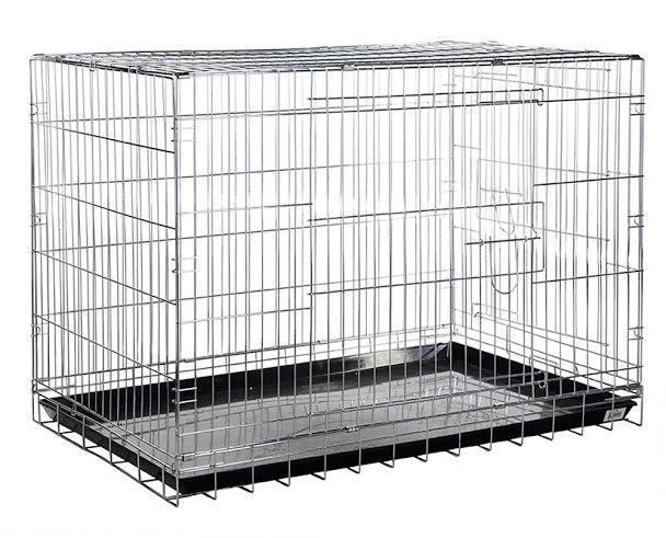 №1 №1 Клетка  д/дом. животн. 61*44*50 хром. 6,4 кг ДКс041С/Хр Kormberi.ru магазин товаров для ваших животных