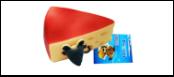 УЮТ Сыр с мышкой 11*5см, винил ИШ13 Kormberi.ru магазин товаров для ваших животных