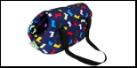 Сумка-переноска  №1 Фэшн 81051/2 синяя/красная 2 55*31*29 Kormberi.ru магазин товаров для ваших животных
