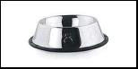 Уют Миска метал. на резинке с рис 0,18л (1*12шт) АМРЛ024 Kormberi.ru магазин товаров для ваших животных