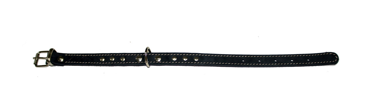 ошейник 16 черный о16ч (26 - 34 см x 16 мм Kormberi.ru магазин товаров для ваших животных