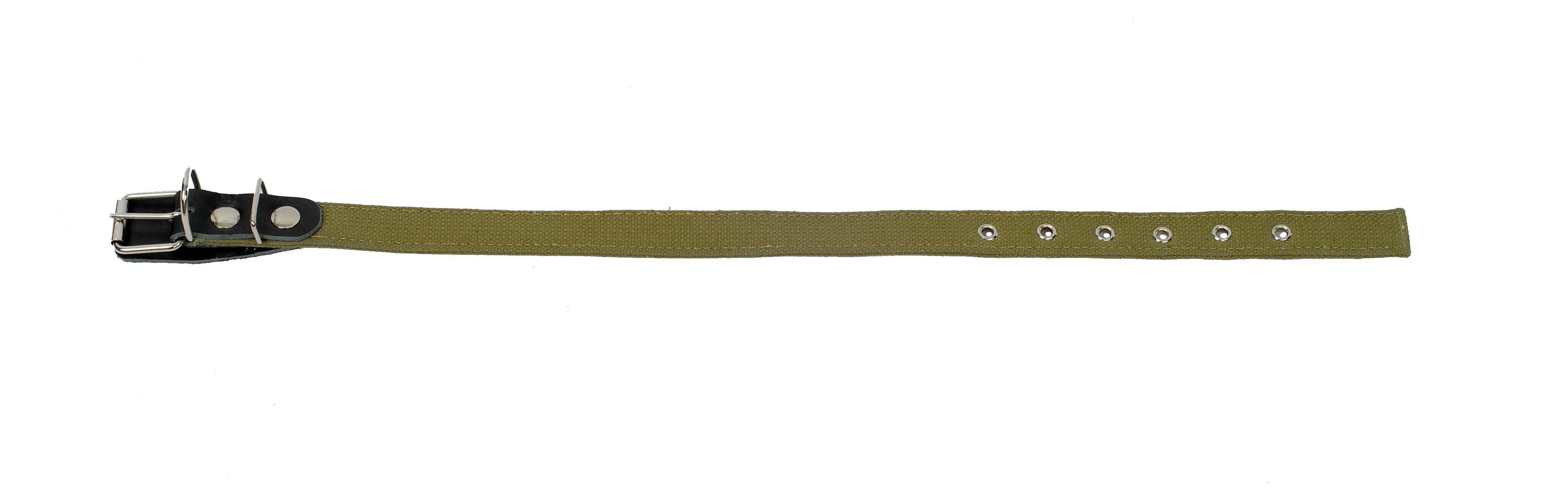 ошейник 20 двойной брезент о20дб (32-44 см х 20 мм) Kormberi.ru магазин товаров для ваших животных