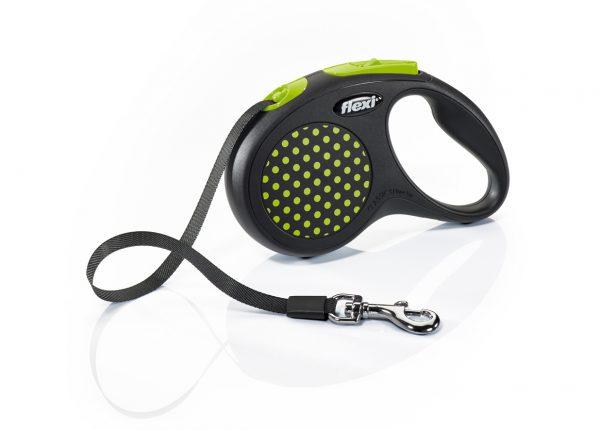 Флекси 5 м 15 кг Design tape S зеленый (green) ремень Рулетка Kormberi.ru магазин товаров для ваших животных