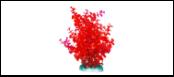 Уют Растение аквариумное 20 см, Бакопа красная ВК410 Kormberi.ru магазин товаров для ваших животных