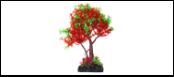 Уют Растение аквариумное 22 см, дерево зелено-красное ВК403 Kormberi.ru магазин товаров для ваших животных