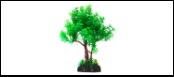 Уют Растение аквариумное 22 см, дерево зеленое ВК401 Kormberi.ru магазин товаров для ваших животных