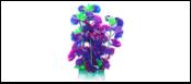 Уют Растение аквариумное 24 см, Щитолистник фиолетовый ВК503 Kormberi.ru магазин товаров для ваших животных