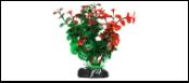 Уют Растение аквариумное 11 см, Бакопа зелен-оранжевая 0,055кг ВК213 Kormberi.ru магазин товаров для ваших животных