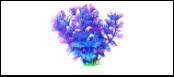 Уют Растение аквариумное 11 см, Амбулия сине-фиолетовая 0,055кг ВК214 Kormberi.ru магазин товаров для ваших животных