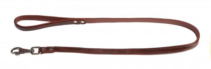 поводок 18 лак рептилия коньячный 120см*18мм пр18к (Р) Kormberi.ru магазин товаров для ваших животных