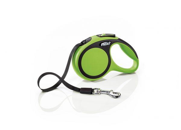 Флекси 3 м 12 кг New Comfort tape ХS зеленый (green) рулетка-Ремень Kormberi.ru магазин товаров для ваших животных