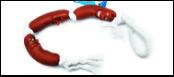 УЮТ Три сосиски на веревке 50см, винил ИШ39 Kormberi.ru магазин товаров для ваших животных