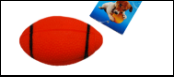 УЮТ Мяч для регби 7см, винил ИШ45 Kormberi.ru магазин товаров для ваших животных