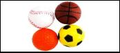 Мяч 4см спорт.-бейсбол,баскетб.,футбол, гольф 4см уп.25 ИУ12 (уп25) Kormberi.ru магазин товаров для ваших животных