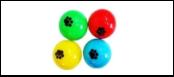 """Мяч 4см -погремушка """"лапка"""" ИУ77 Kormberi.ru магазин товаров для ваших животных"""