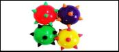 Мяч 5см -погремушка с шипами ИУ8 Kormberi.ru магазин товаров для ваших животных