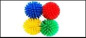 Мяч 3см -шуршик матовый ИУ71 (уп 75) Kormberi.ru магазин товаров для ваших животных
