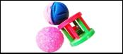 Набор 2 мячика 1 катушка ИУ58 Kormberi.ru магазин товаров для ваших животных