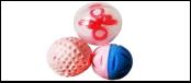 Набор 3 мячика (2 латекс, 1 пластик) ИУ55 Kormberi.ru магазин товаров для ваших животных