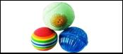 Набор 3 мячика (латекс, пластик, эт.-винил) ИУ56 Kormberi.ru магазин товаров для ваших животных