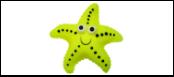УЮТ Морская звезда 13см, винил ИШ56 Kormberi.ru магазин товаров для ваших животных