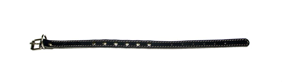 ошейник 14 черный о14ч (22 - 29 см x 14 мм) Kormberi.ru магазин товаров для ваших животных