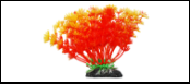 Уют Растение аквариумное 11 см, Амбулия оранжевая 0,055кг ВК223 Kormberi.ru магазин товаров для ваших животных
